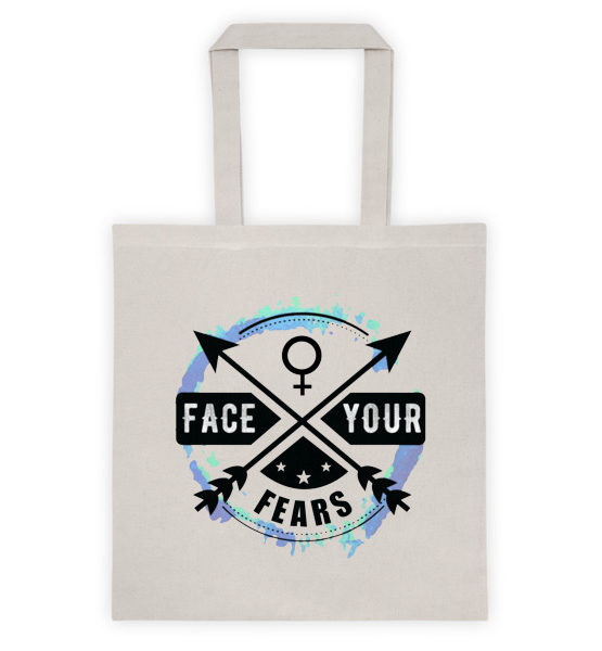 "Femen Bag ""Face Your Fears"""