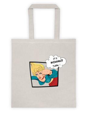 """Femen Bag """"It's Woman's Turn"""""""