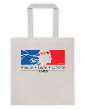 "Femen Bag ""Nudite Lutte Liberte"""