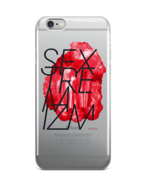 "Femen iPhone Case ""Sextremism"""