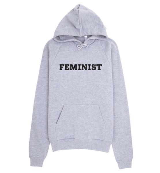 """Femen Unisex Hoodie """"Feminist"""""""