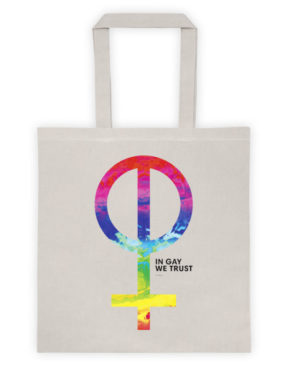 "Femen Bag ""In Gay We Trust"""