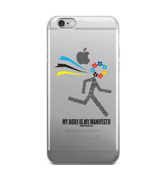"Femen iPhone Case ""My Body Is My Manifesto"""