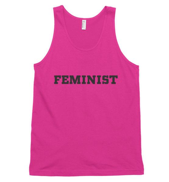 "Femen Unisex Tank Top ""Feminist"""