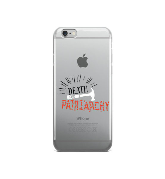 "Femen iPhone Case ""Death For Patriarchy"""
