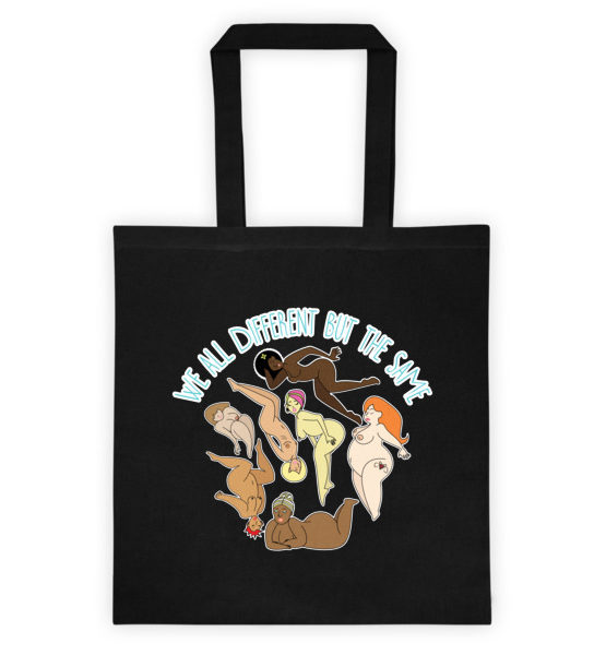 "Femen Bag ""We All Different But The Same"""