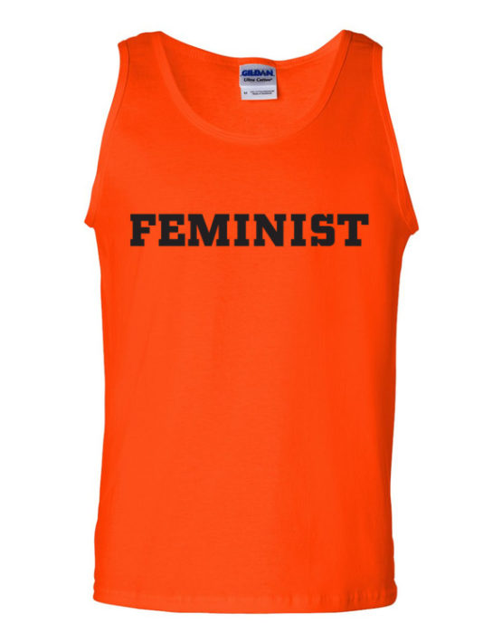 "Femen Man's Tank Top ""Feminist"""