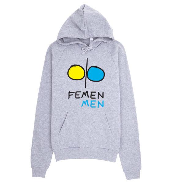 """Femen Unisex Hoodie """"Femen Men"""""""