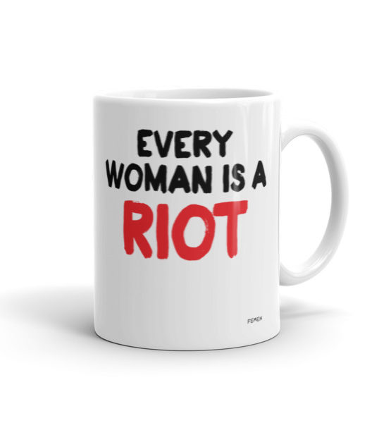 "Femen Mug ""Every Woman Is A Riot III"""
