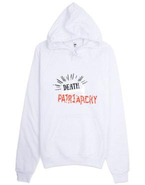 "Femen Unisex Hoodie ""Death For Patriarchy"""