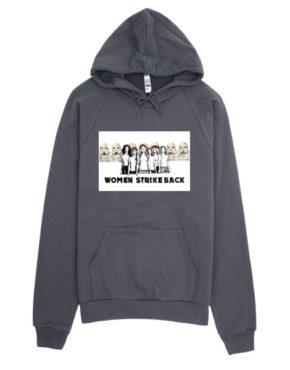 """Femen Unisex Hoodie """"Women Strike Back"""""""