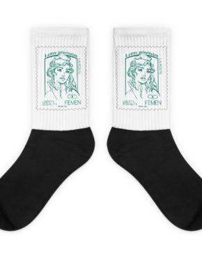 """Femen Socks """"Lettre Prioritaire"""""""