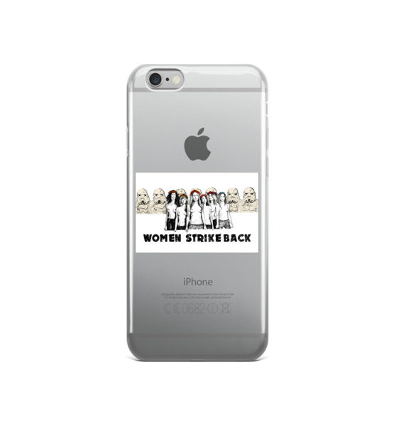 "Femen iPhone Case ""Women Strike Back"""