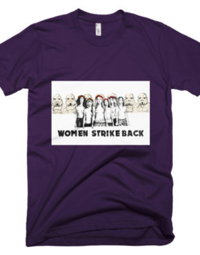 "Femen Man's T-Shirt ""Women Strike Back"""
