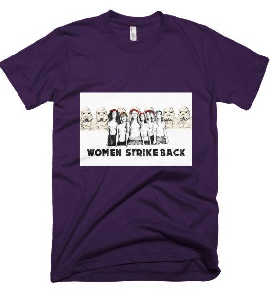"Femen Man's T-Shirt ""Women Strike Back"""