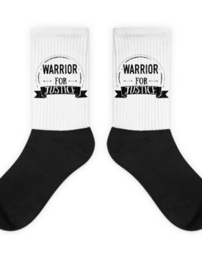 "Femen Socks ""Warrior For Justice"""