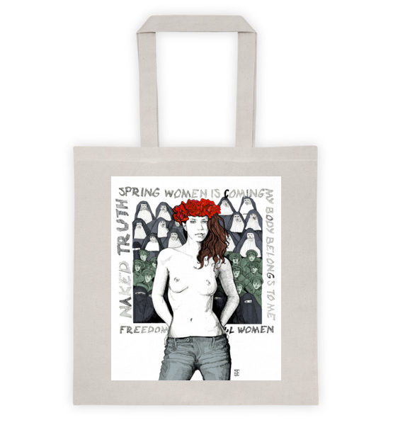 "Femen Bag ""Spring Woman Is Coming"""