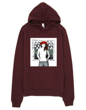 "Femen Unisex Hoodie ""Spring Woman Is Coming"""