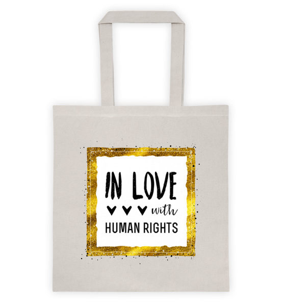 "Femen Bag ""In Love With Human Rights"""