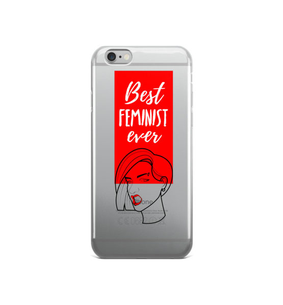 "Femen iPhone Case ""Best Feminist Ever"""