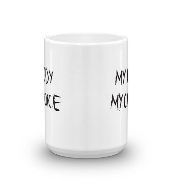 "Femen Mug ""My Body My Choice"""