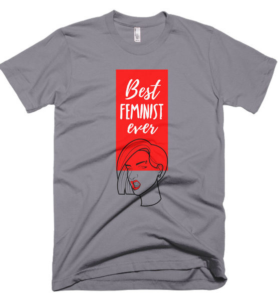 "Femen Man's T-Shirt ""Best Feminist Ever"""