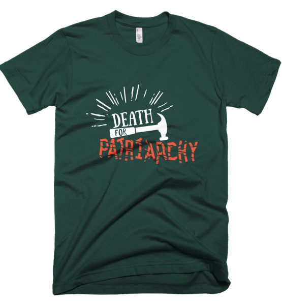 "Femen Man's T-Shirt ""Death For Patriarchy Dark"""