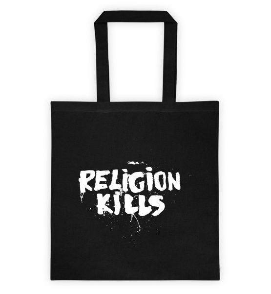 "Femen Bag ""Religion Kills Dark"""