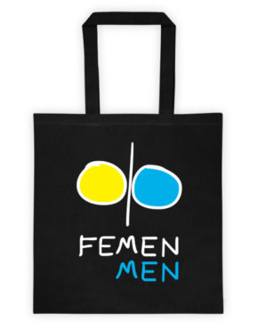 "Femen Bag ""Femen Men Dark"""