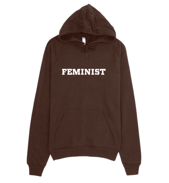 "Femen Unisex Hoodie ""Feminist Dark"""