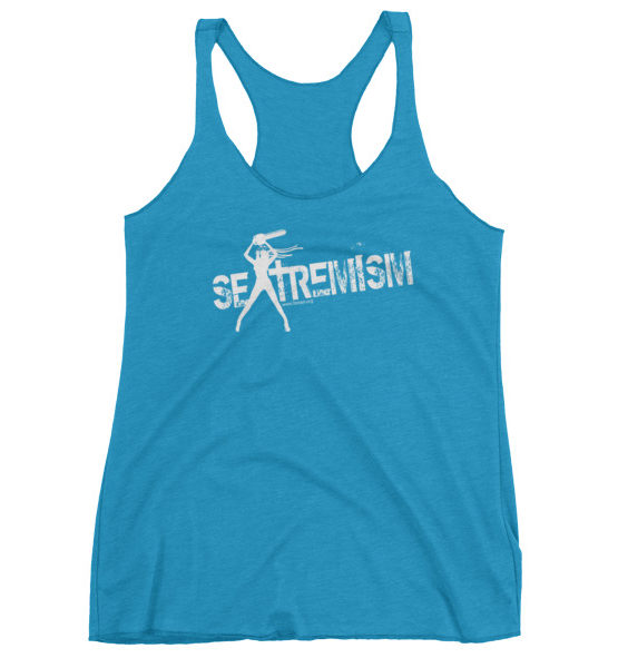 "Femen Woman's Tank Top ""Sextremism III Dark"""