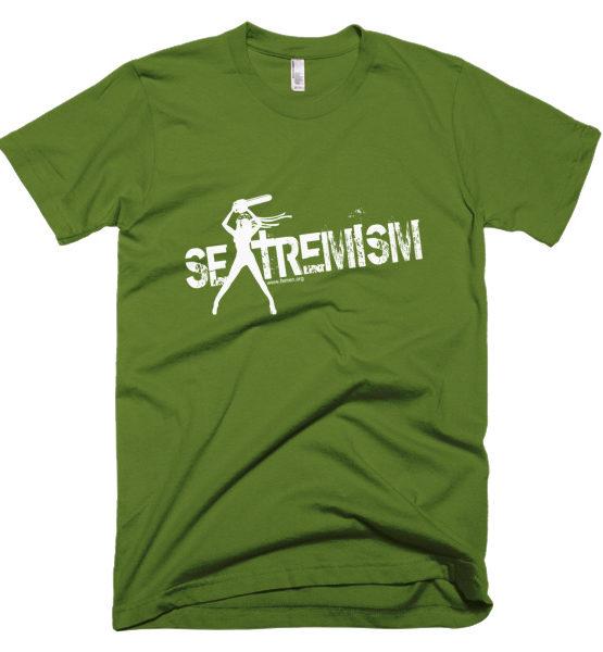 """Femen Man's T-Shirt """"Sextremism III Dark"""""""