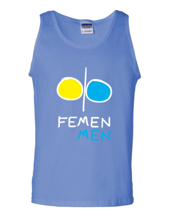 "Femen Man's Tank Top ""Femen Men Dark"""