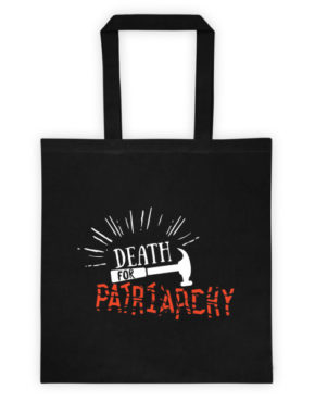 "Femen Bag ""Death For Patriarchy Dark"""