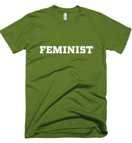 "Femen Man's T-Shirt ""Feminist Dark"""