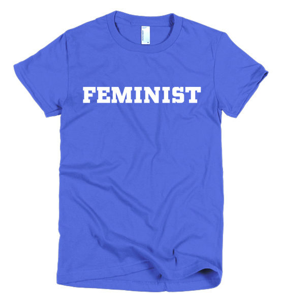 "Femen Woman's T-Shirt ""Feminist Dark"""