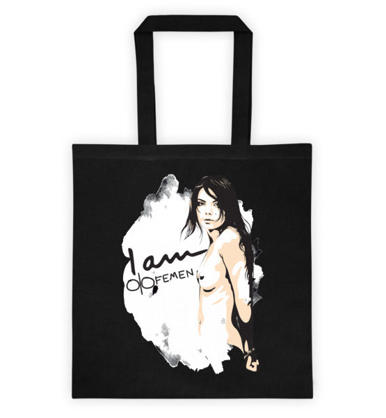 "Femen Bag ""I Am Femen Dark"""